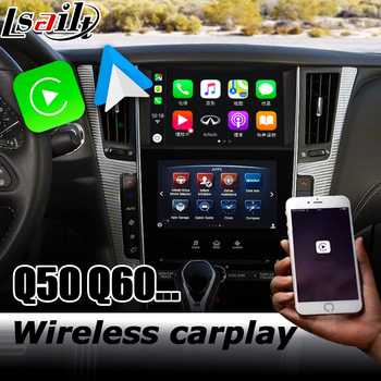 Carplay interface for Infiniti Q50 Q60 video interface box with youtube Android auto QX50 QX60 by Lsailt