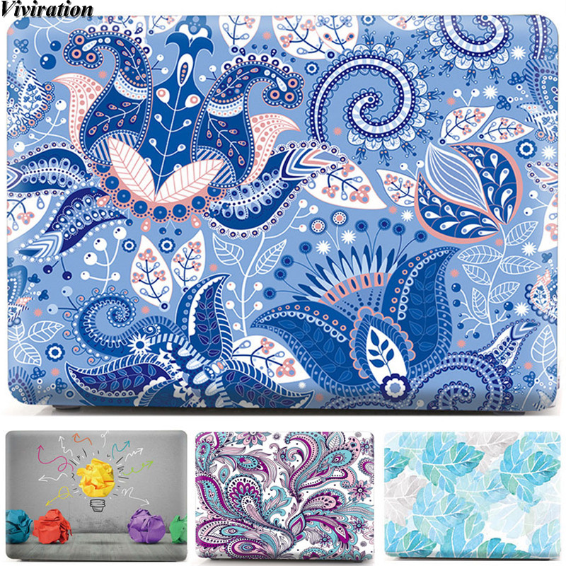 For HUAWEI MateBook D 14 D 15 Print Laptop Anti-Scratch Case Cover For Mate D15 D14 2020 Women Fashion Notebook Protective Shell