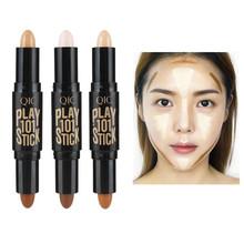 Gorąca sprzedaż Face Foundation Concealer Pen długotrwałe cienie korektor Contour korektory Stick Cosmetic Makeup tanie tanio Ołówek Wszystkich rodzajów skóry RU (pochodzenie) Kontrola oleju Wodoodporna wodoodporny Wybielanie BRIGHTEN Naturalne
