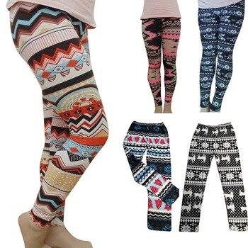 2020 New Women's Autumn Leggings Girl Winter Legging Bottoms Snowflake Christmas Deer Print Leggings Women Clothing Jeggings 2