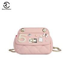 RARE CREATIVE Mini Designer Crossbody Bag High Quality Small Shoulder PU Leather children Purse Brand Bolsas Feminina PS8033