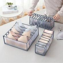 Iç çamaşırı sütyen çorap külot saklama kutuları dolap organizatörler dolap dolap ev organizasyonu çekmece içi bölme aparatı yurt yerden tasarruf