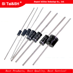 20PCS Rectifier Diode 1N5408 1N5404 1N5401 1N5822 1N5818 UF5408 UF5402 6A10 10A10 DO-27