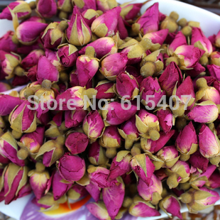 Free Shipping,50g Pink Rose Lady's Tea,Rose Bud,blooming Flower Tea,Anti-Aging