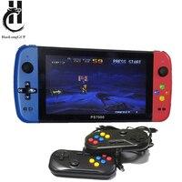 Consola portátil de 7 pulgadas PS7000/Q900, 2 gamepads de 64/128GB, 5000 juegos gratuitos, 100 juegos de ps1 para MAME/CPS/SegaMD