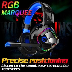 Image 5 - JOINRUN PS4 משחקי אוזניות 4D סטריאו RGB Marquee אוזניות אוזניות עם מיקרופון עבור חדש Xbox אחד/מחשב נייד/מחשב tablet גיימר