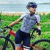 2020 xama verão ciclismo macacão de manga curta skinsuit profissional ciclismo roupas roupa ciclismo equipe roadbike correndo terno 24