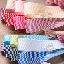 50yards 10 16 19 25 38mm colorful herringbone ribbon for kids hair bow diy accessories craft supplies bouquet flower packing