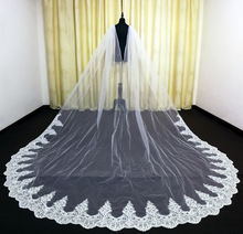 Real Photos Wedding Cape Veil White/Ivory Bridal Shoulder Veil Tulle Long Cape Cloak Shawl Trim Wedding Accessories 2020 new bridal dress cloak tulle princess proof shawl party stage catwalk photographic portrait tulle cloak