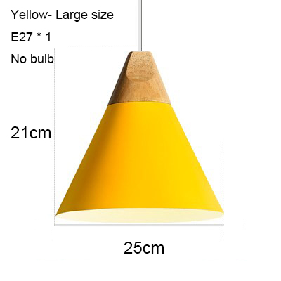 Yellow 250mm no bulb