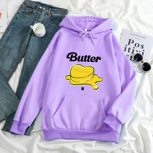 BTS BUTTER THEMED HOODIE (8 VARIAN)