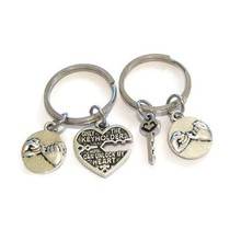 Hand-in-hand Pendant With Best Friend Fashion Lovers Keychain Guard Family Friendship Keyring Parent-child BFF Love Jewelry(China)