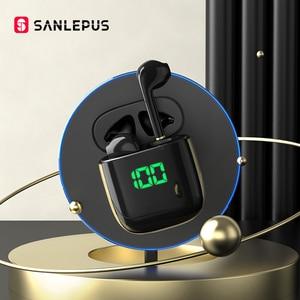 Image 1 - Sanlepus Led Display Tws Bluetooth Oortelefoon Draadloze Hoofdtelefoon Gaming Headset Oordopjes Voor Android Ios Xiaomi Huawei Vivo Redmi