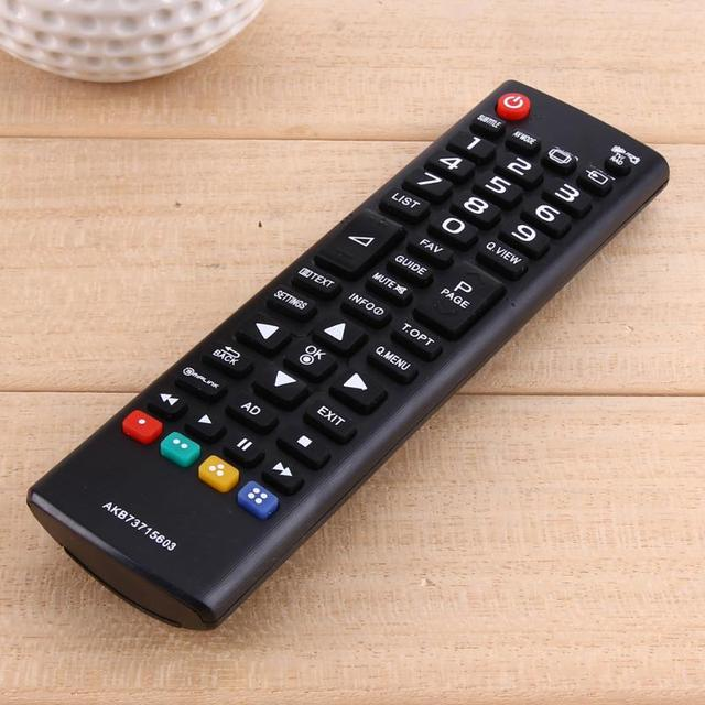 Universal TV Remote Control Smart Replacement For LG AKB73715601 43UJ6309 AKB75095308 55LA690V LCD LED Television 17 x 4.5cm 4