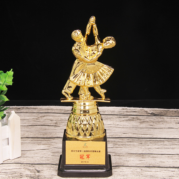 This Statue Customization Of Individual Character Broad Ballet Dance Trophy Music Festival Plastic Trophy Currently Available Wh