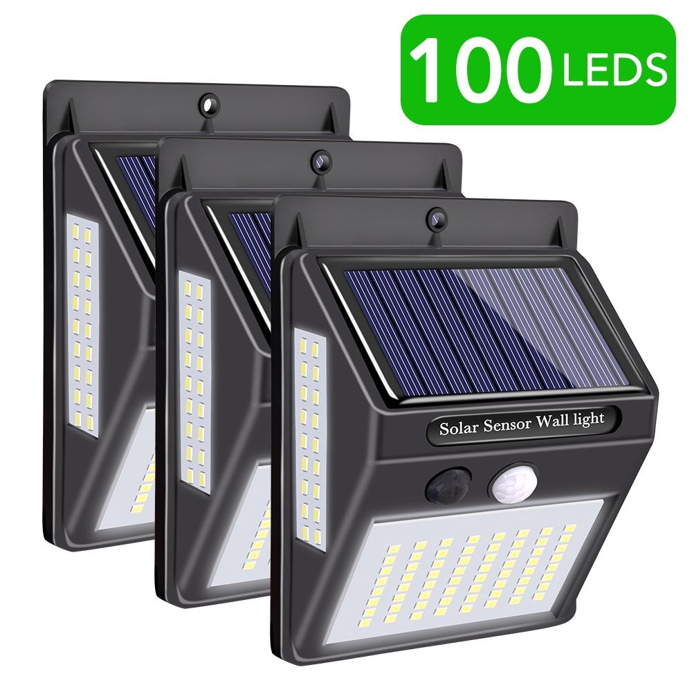 Solar Lamp Outdoors 20 LED Motion Sensor Lamp Light Waterproof Solar Wall Lamp Garden Street Lights Emergency Security Light
