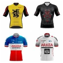 2019 men summer bike Tops PRO TEAM AERO CYCLING Jerseys Short sleeve Bicycle rode race fast speed MTB bicycle riding  jersey цены онлайн