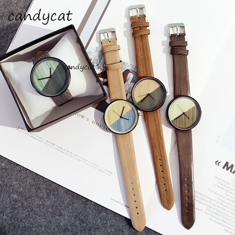 CandyCat Watch Korean Version Of The Female Students Vintage European Trend Couple Watches Shi Shang Kuan Word