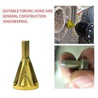Deburring الخارجية أداة الشطب عالية القوة صلابة المعادن مثقاب الخشب إزالة لدغ إصلاح أدوات ل تشاك الحفر الذهب
