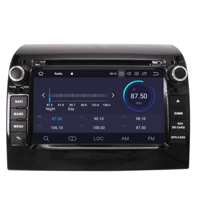 Aotsr Android 10,0 GPS навигация автомобильный DVD плеер Автомобильный видео Автомобильный плеер стерео для FIAT DUCATO 2011-2015 автомобильный радио головное ...
