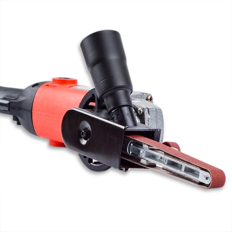 DIY Sander Sanding Belt Adapter For 100mm 4 Inch Electric Angle Grinder For Woodworking Metalworking Abrasive Tools