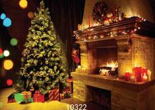 SHENGYONGBAO Vinyl Custom Photography Backdrops Prop Christmas day Christmas Tree Theme Photo Studio Background ST-06 цена