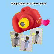 Hot New Kids Camera Toy Mini HD Cartoon Smart Cameras Taking Pictures Gifts For Boy Girl Birthday Camera Toys With 32G Card read(China)