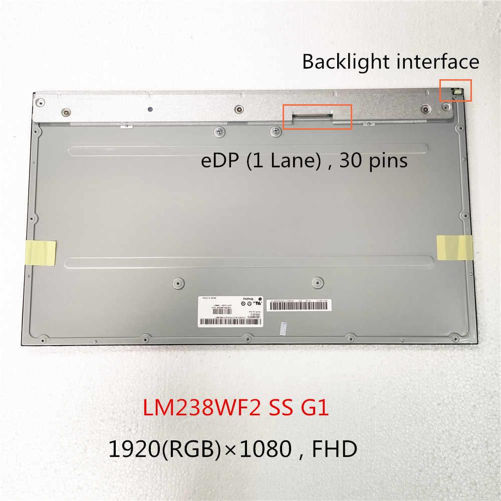 Original 23,8 pulgadas LM238WF2 SS G1 LM238WF2 SS G3 LCD pantalla LED 1920*1080 FHD eDP 30 pines completamente probado