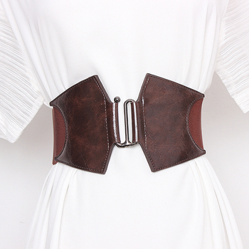 Corset Belt Woman Waist Plus Size Belts For Women Wide Cummerbunds Designer Elastic Big Ceinture Femme High Quality Dress Belt