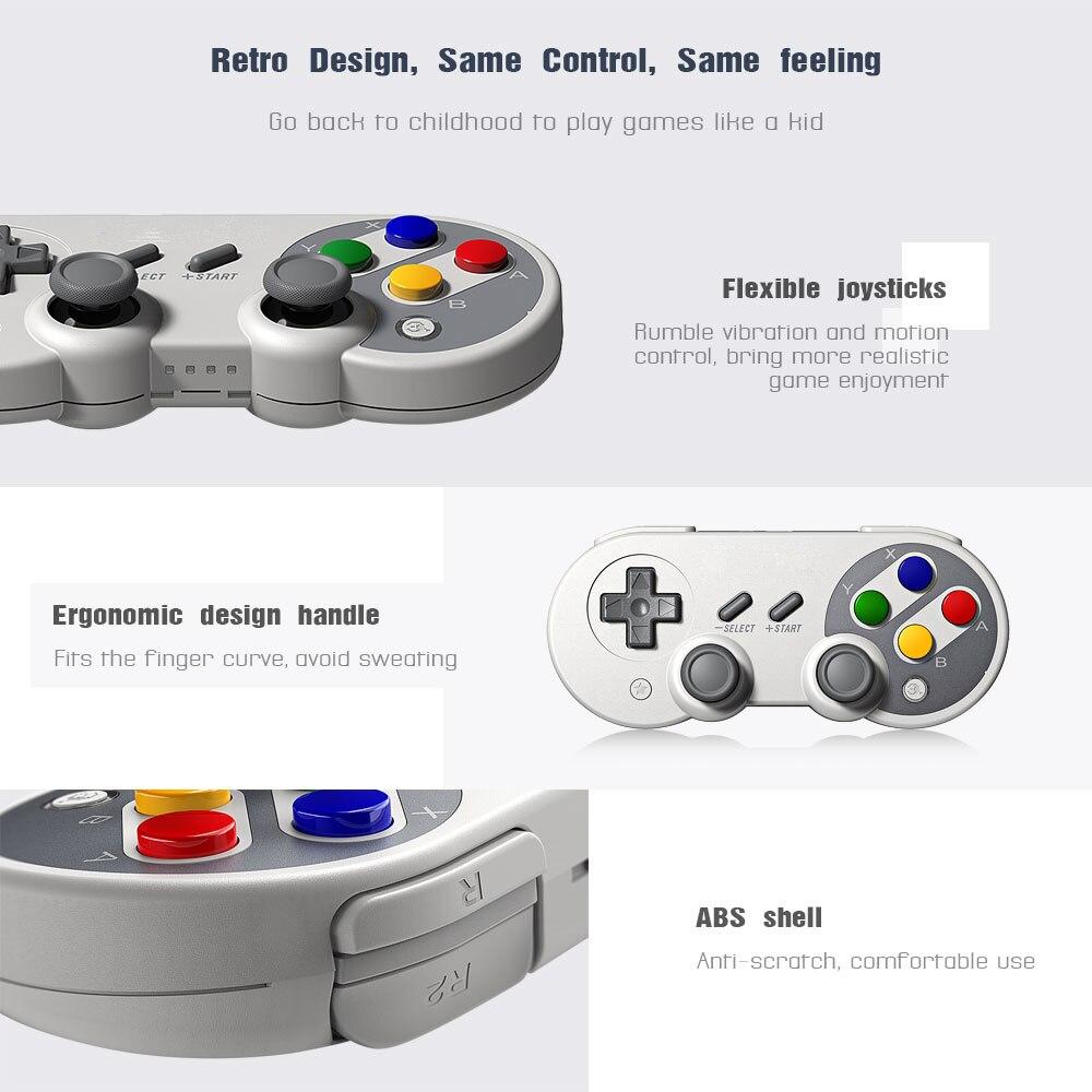 Для Switch Pro беспроводной пульт управления Bluetooth для NS дистанционного геймпада консольный переключатель Nintendo джойстик - 3