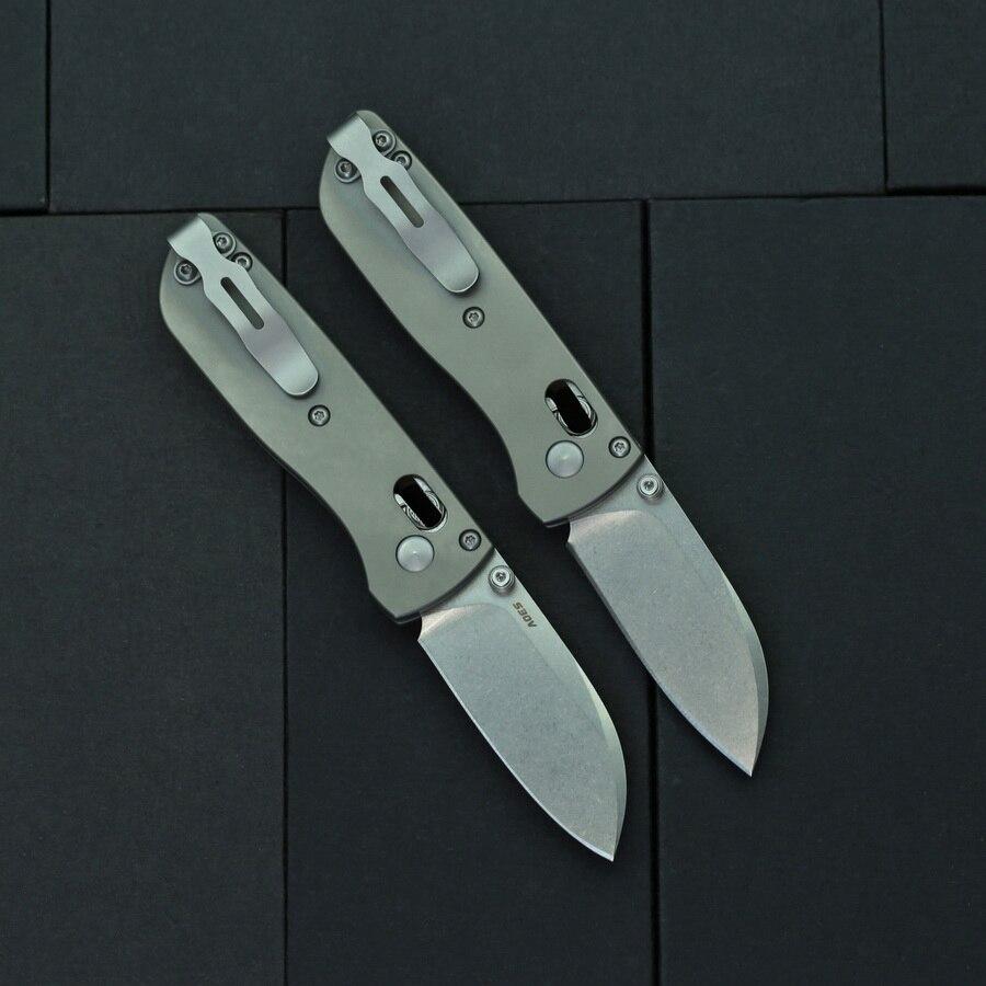 Tools : BEKETEN 535 mini Pocket Folding Knife S30V Blade Titanium Handle Outdoor Camping Hunting Survival Tactical Gift Knives EDC Tools