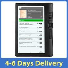 Устройства для чтения электронных книг BK7019 Портативный красочные ЖК-дисплей Экран дисплея ГБ/8 ГБ/16 ГБ 7 дюймов многофункциональная электро...