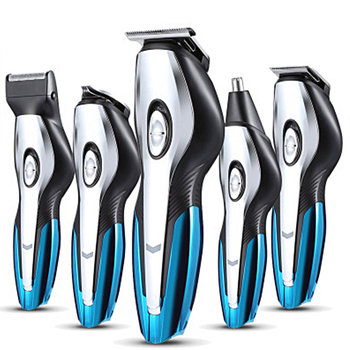 цена на 6 In 1 New Washable Rechargeable Hair Trimmer Electric Hair Clipper Razor Shaver Beard Trimmer Men's Hair Clipper Beard  Trimmer