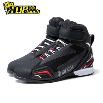 ARCX Motorcycle Boots Breathable Botas Moto Men Motocross Shoes Wearable Boots Motorcycle Racing Motocross Off-road Four Seasons arcx motorcycle boots men waterproof botas moto genuine cow leather moto boots motocross boots motorcycle racing mid calf shoes