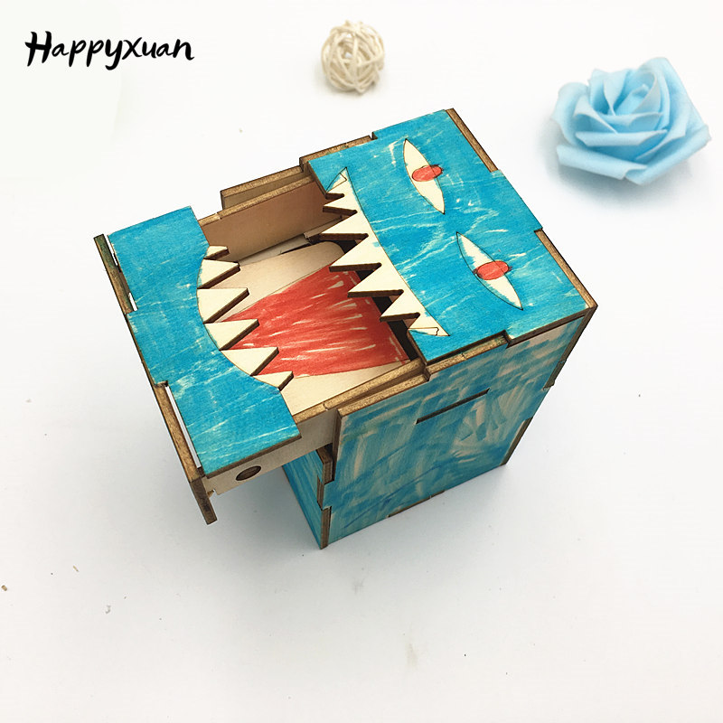 Happyxuan Fun Greedy Monsters DIY Educational Science Kits Kids Creativity Toys STEM Learning School Projects Gift