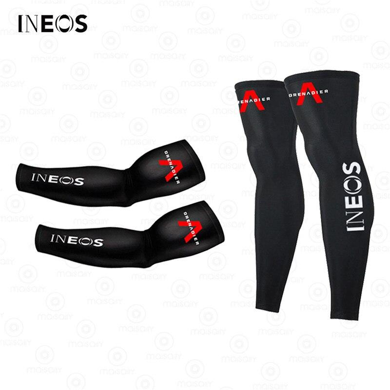 2021 New INEOS Grenadier Leg Warmers UV Protection Cycling Arm Warmer Breathable Bicycle Running Racing MTB Bike Leg Sleeve