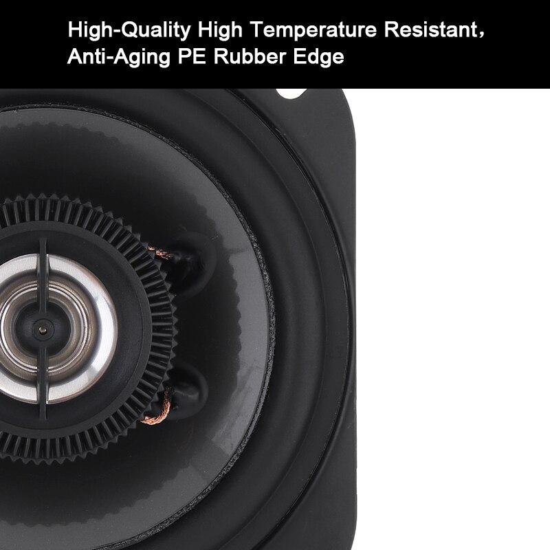 vias universal carro coaxial alto falantes de audio 05
