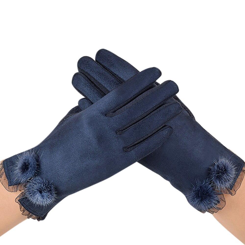Зимние перчатки, Осенние теплые перчатки, перчатки на запястье, бархатные теплые перчатки, мягкие перчатки на запястье, толстые перчатки на полный палец, перчатки для женщин|Женские перчатки|   | АлиЭкспресс