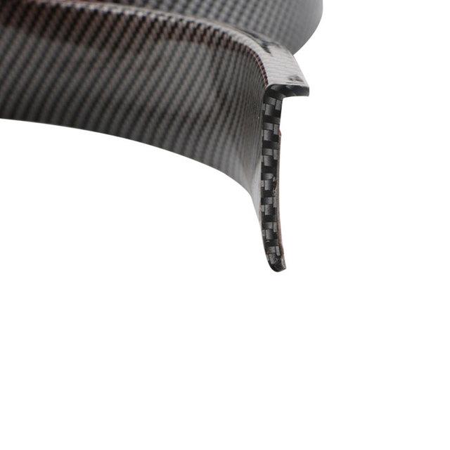 Car Fender Flare Extension Wheel Eyebrow Protector Lip Wheel-Arch Trim Wheel Eyebrow Arch Decorative Strip Car Tires Protector