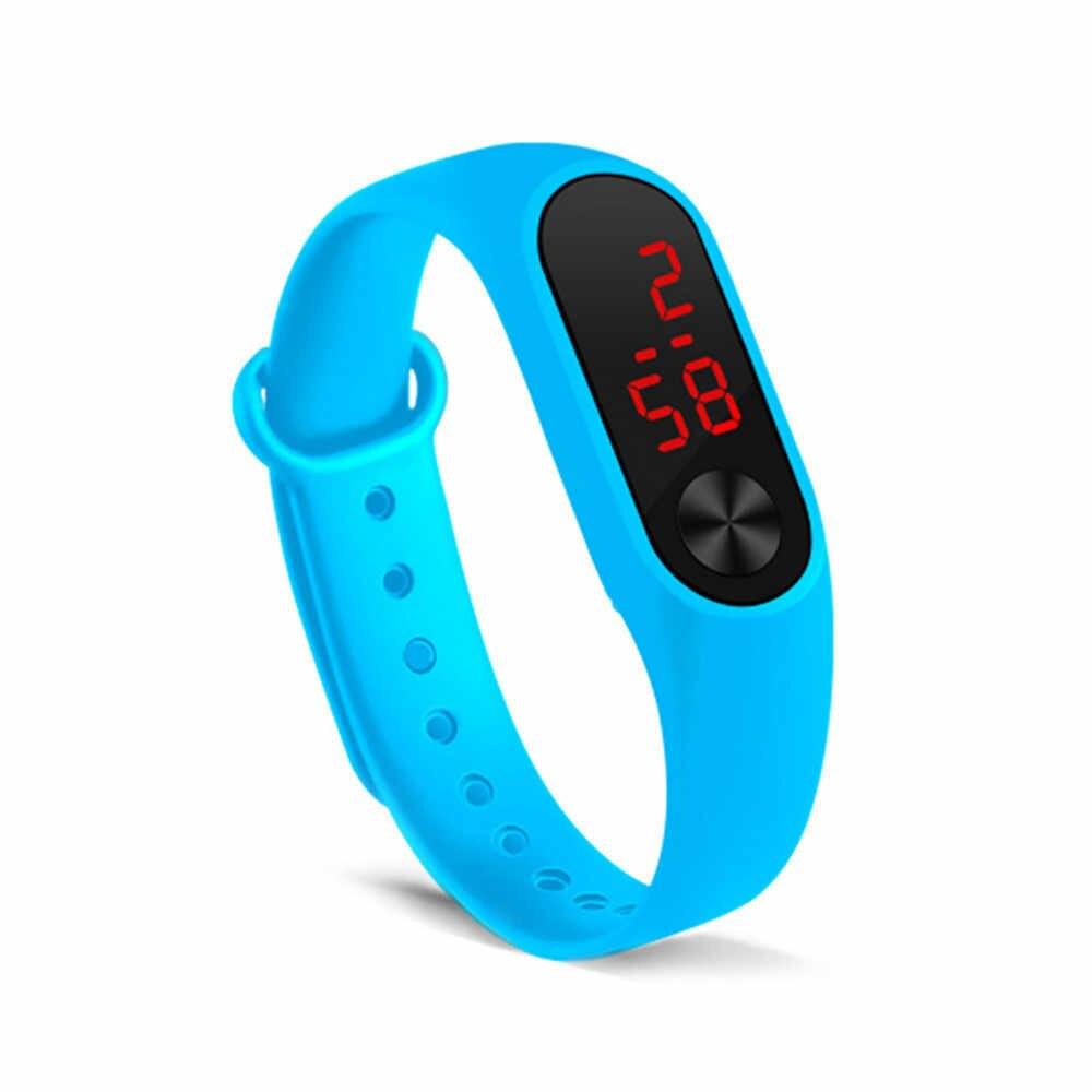 Nam Và Nữ Cùng Vòng Tay Đồng Hồ Đèn Led Thể Thao Thời Trang Đồng Hồ Điện Tử Đơn Giản Tính Khí Reloj Deportivo Para Mujer 03