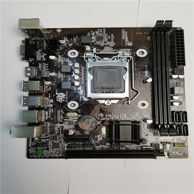 Intel H81 Desktop Motherboard H81 Socket LGA 1150 i3 i5 i7 DDR3 16G Micro-ATX UEFI BIOS Original New Mainboard