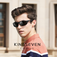 KINGSEVEN Men Driving Sunglasses Polarized Mirror Sun Glasse