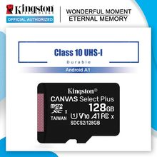 Kingston-tarjeta Micro SD de 128GB, 256GB Class10, 64GB, 32GB, 16G, TF, microSDHC, microSDXC, 512GB