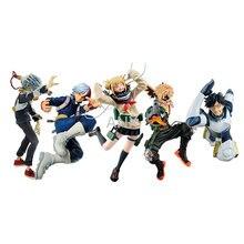 18CM My Hero Academia Deku Shigarak Iida Himiko Bakugo Todorok Figure PVC Action Academy Anime Collection Model Gifts