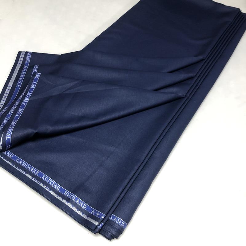10 metros Cashmere Material De Lã Para Os Homens Pano Agbada Africano Material de Tecido de Algodão Macio Cashmere de Alta Qualidade para o Homem Terno 30