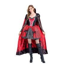Новинка 2020 одежда для Хэллоуина платья взрослых женская в
