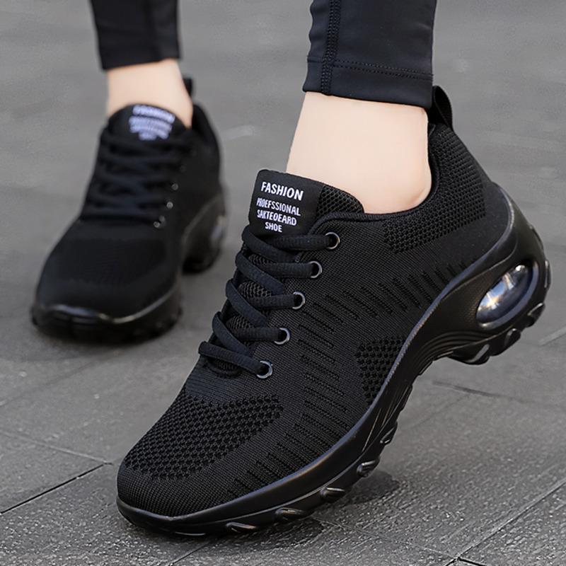 2020 New Sneakers Women Shoes Mesh Breathable Flat Anti Slip Woman Sneaker Outdoor Trainer Female Zapatos De Mujer Sport Shoe