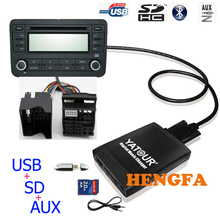 Aux-Adapter Changer Yatour Digital 6006CD Quadlock Yt-M06 Ford Usb Mp3 Cd-Music Car
