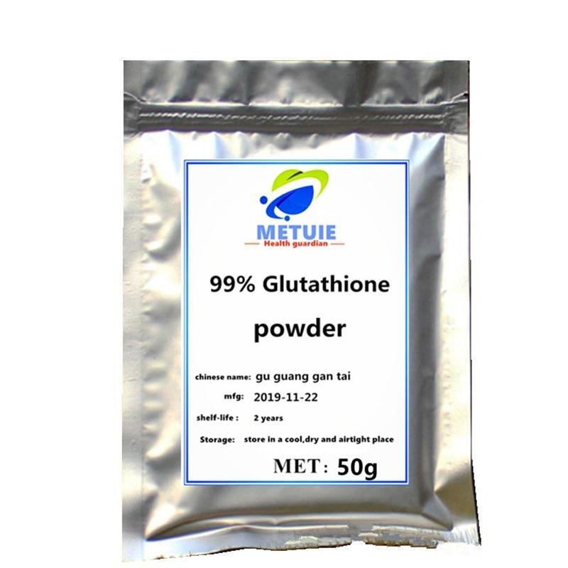 Hot Sale 50g-1000g Glutathione Skin Whitening Glutationa Cosmetic Body Concealer Powder Brighten 1 Pc Supplement Cream Free Ship