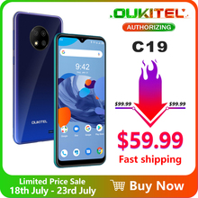 """OUKITEL C19  6.49"""" HD+ 2GB 16GB  Smartphone MTK6737 Ouad Core Android 10.0 Mobile Phone 4000mAh TYPE-C"""